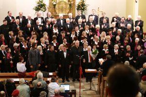 Wspólny śpiew wszystkich chórów
